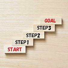 自立へのステップアップ